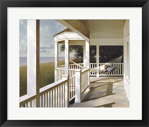 Framed Porch Swing 2 Print