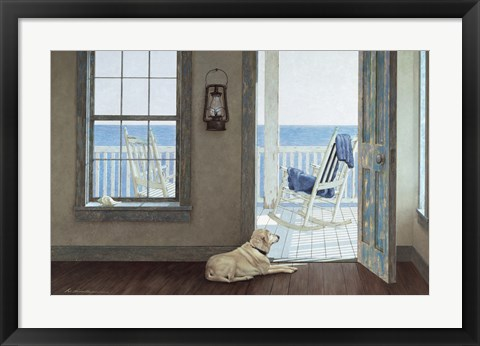 Framed Rocking Chair Print
