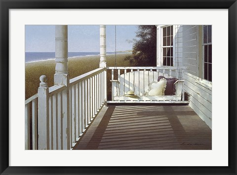 Framed Porch Swing 3 Print