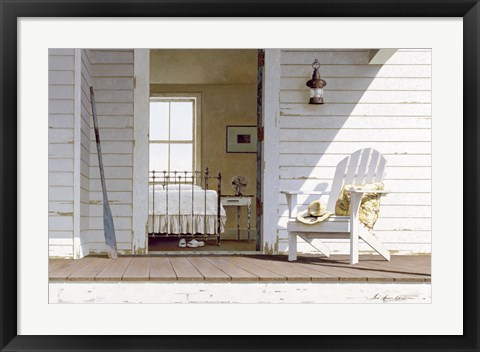 Framed Porch 3 Print
