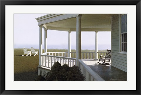 Framed New Porch Print