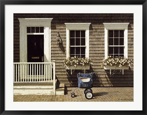 Framed Mail Delivery Print