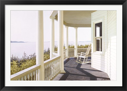 Framed Carolina Overlook Print
