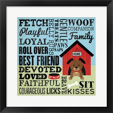 Framed Fetch Print