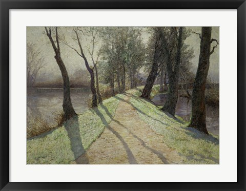 Framed First Frost, c. 1900 Print