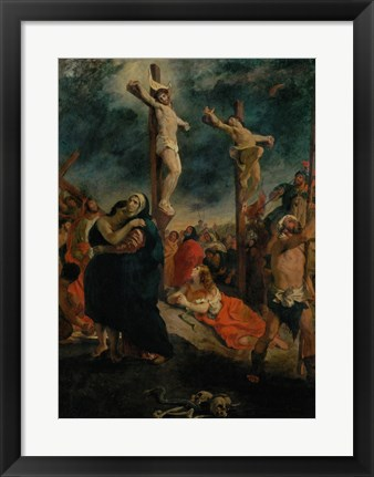 Framed Crucifixion, 1835 Print