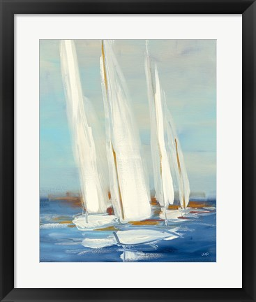 Framed Summer Regatta II Print