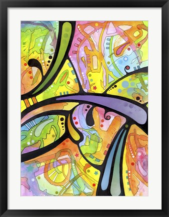 Framed Abstract Print