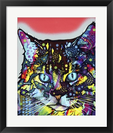 Framed Maine Coon Print