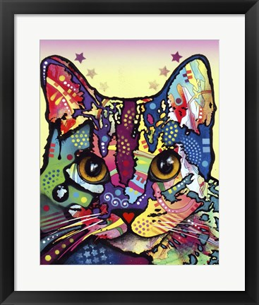 Framed Maya Cat Print