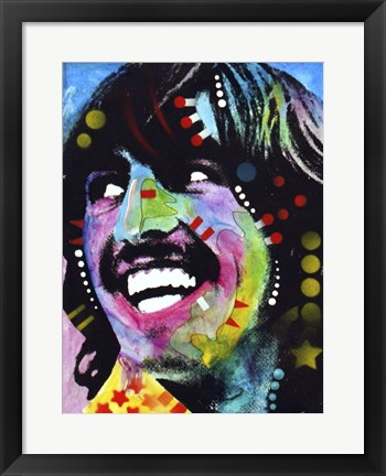 Framed George Harrison Print