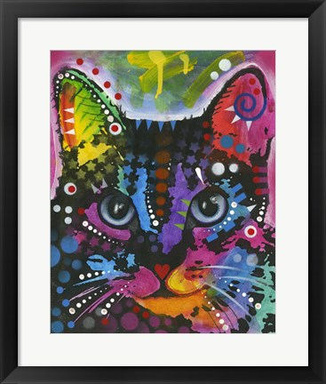 Framed Cat 12 Print