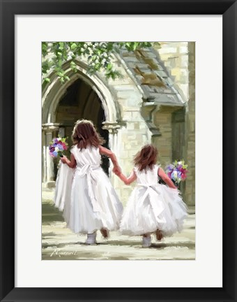 Framed Bridesmaids Print