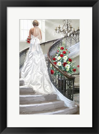 Framed Bridal Staircase Print