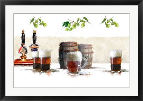 Framed Real Ale Print