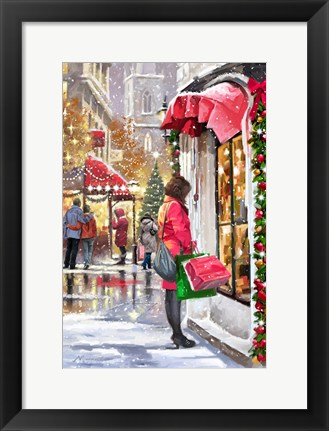Framed Shopper Print