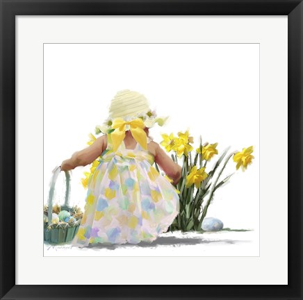 Framed Easter Egg Hunt Print