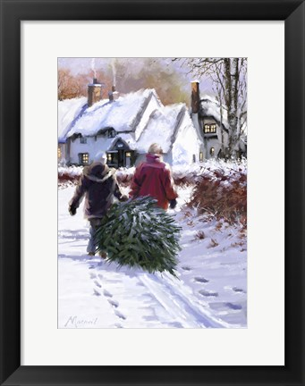 Framed Mature Couple Print
