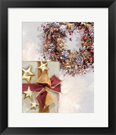 Framed Decorated Gift Print
