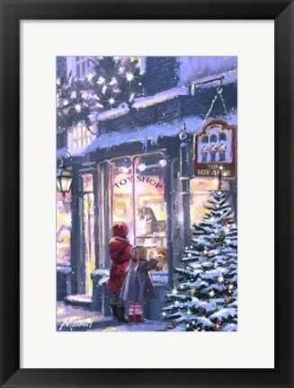Framed Toy Shop 6 Print