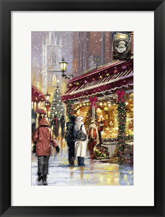 Framed Shopping Print