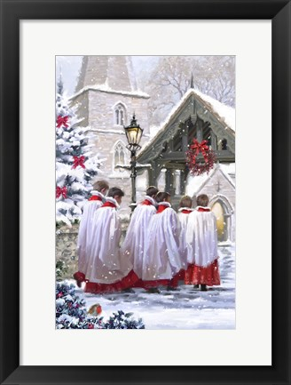 Framed Church Choir Print