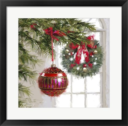 Framed Bauble Print
