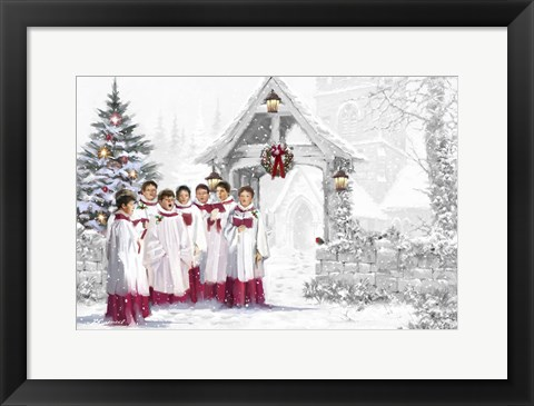 Framed Choirboys 5 Print