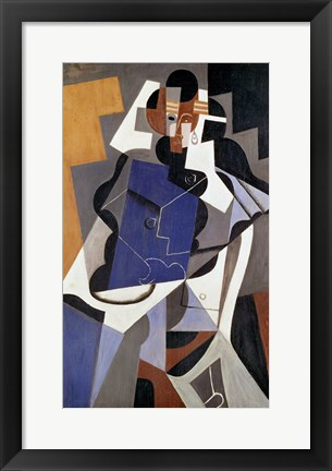 Framed Woman, 1915-17 Print