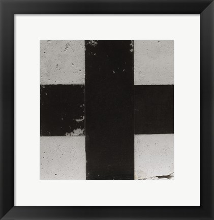 Framed Black Cross, c. 1923-26 Print