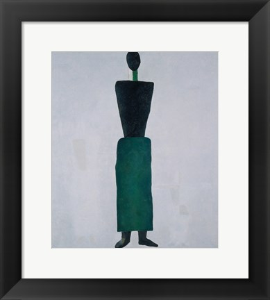 Framed Female Figure, c. 1928 Print
