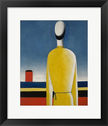 Framed Presentimento Complex (Man with yellow shirt), 1928-1932 Print
