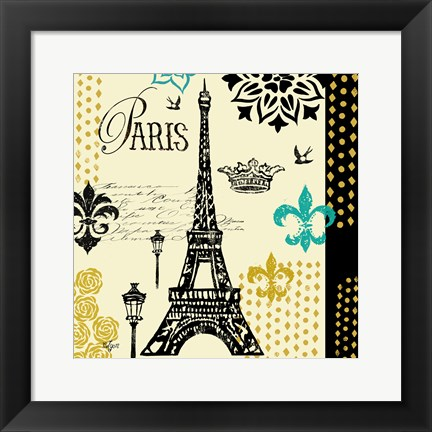 Framed Paris Architecture II Print