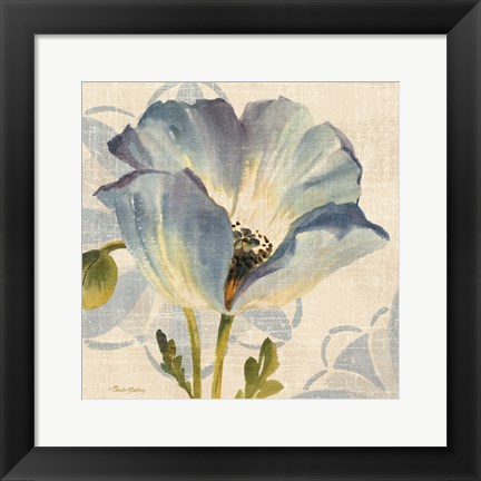 Framed Watercolor Poppies IV Print