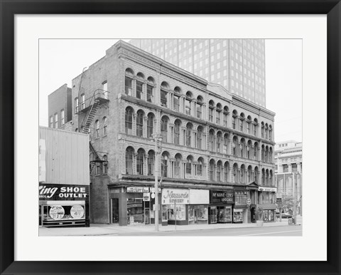 Framed Iron Block, 205 East Wisconsin Avenue, Milwaukee, Milwaukee County, WI Print