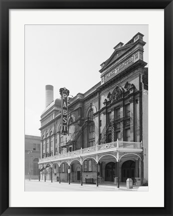 Framed Pabst Theater, 144 East Wells Street, Milwaukee, Milwaukee County, WI Print