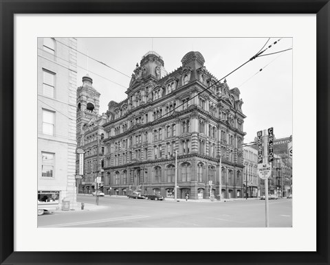 Framed Mitchell Building, 207 East Michigan Street, Milwaukee, Milwaukee County, WI Print