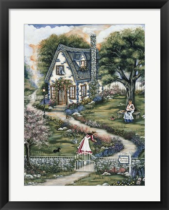 Framed Sisters Cottage Print