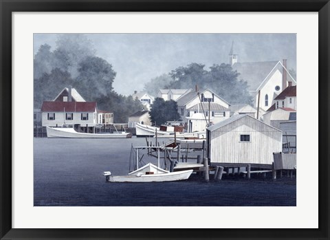 Framed Summer At Smith Island Print