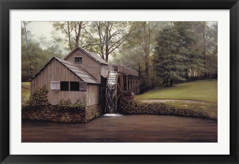 Framed Mabry Mill Print