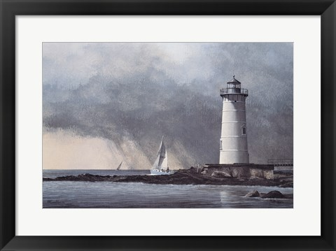 Framed Out After The Storm Print