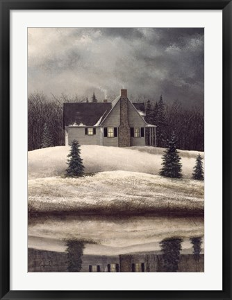 Framed Reflective Solace Print