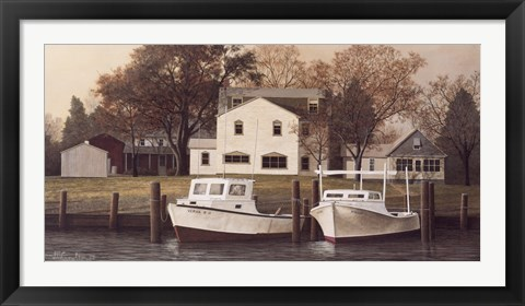 Framed Chesapeake Shore Print