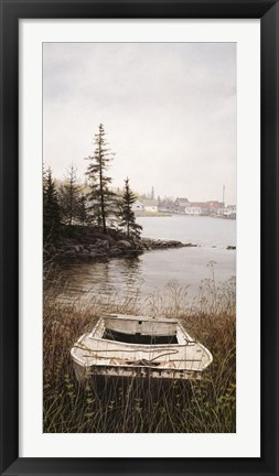 Framed Bass Harbor Print