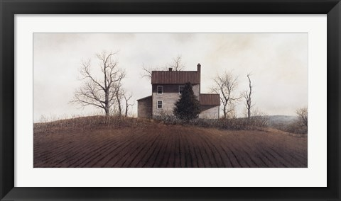 Framed Hilltop Farm Print