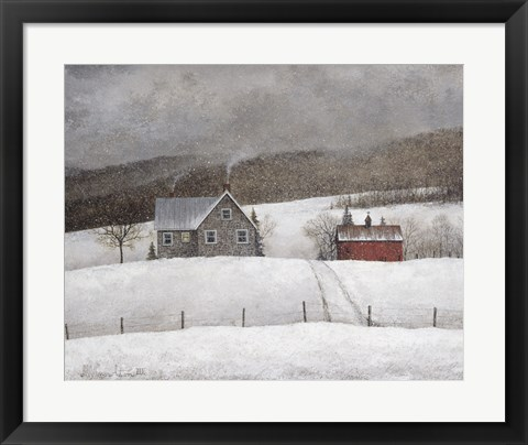 Framed Cozy Retreat Print