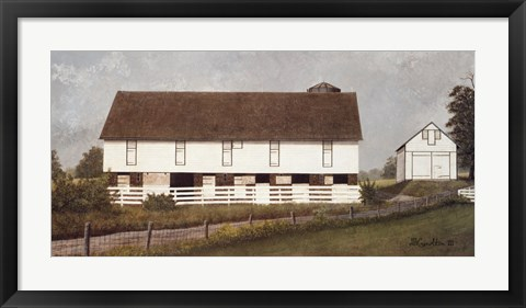 Framed Amish Country I Print