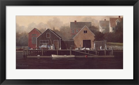 Framed Waterside Print