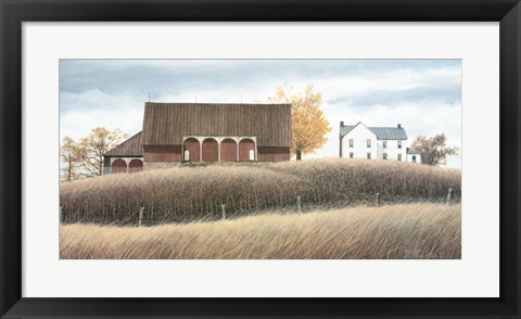 Framed Autumn Tranquility Print