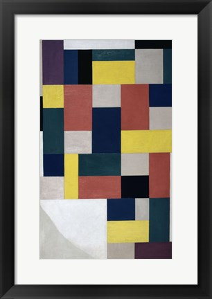 Framed Pure Painting ( Composition),  1920 Print